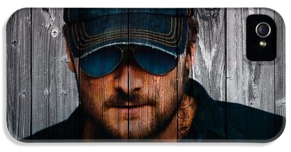 Springsteen iPhone 5 Cases - Eric Church iPhone 5 Case by Dan Sproul