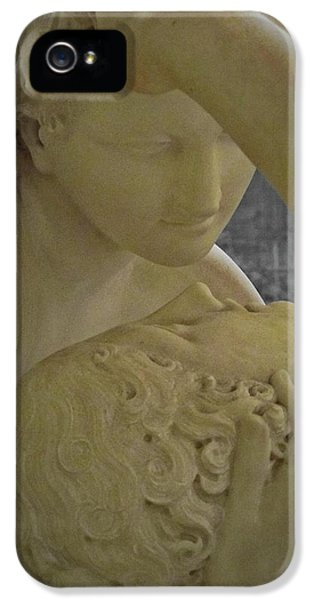 Eternal Love - Psyche Revived By Cupid's Kiss - Louvre - Paris IPhone 5 / 5s Case by Marianna Mills