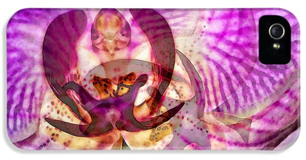 Ethereal Orchid By Sharon Cummings IPhone 5 / 5s Case by Sharon Cummings
