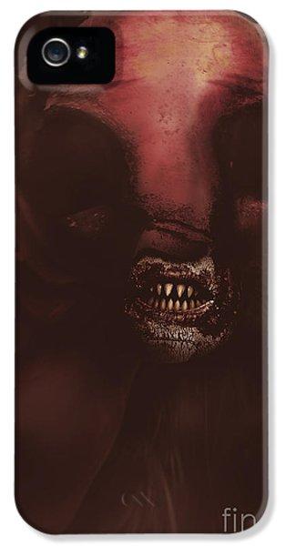 Evil Greek Mythology Minotaur IPhone 5 / 5s Case by Jorgo Photography - Wall Art Gallery