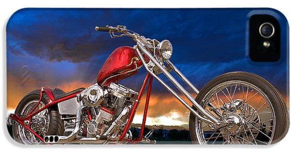 Fabrication iPhone 5 Cases - Executive Chopper 8 iPhone 5 Case by Dave Koontz