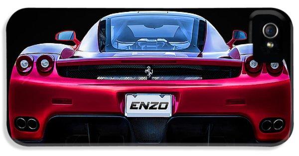 Extreme iPhone 5 Cases - Exotic Ferrari Enzo iPhone 5 Case by Douglas Pittman