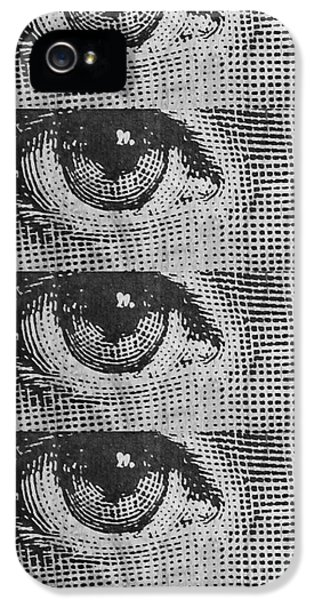 Cell iPhone 5 Cases - Eyes Cell Phone Case iPhone 5 Case by Edward Fielding
