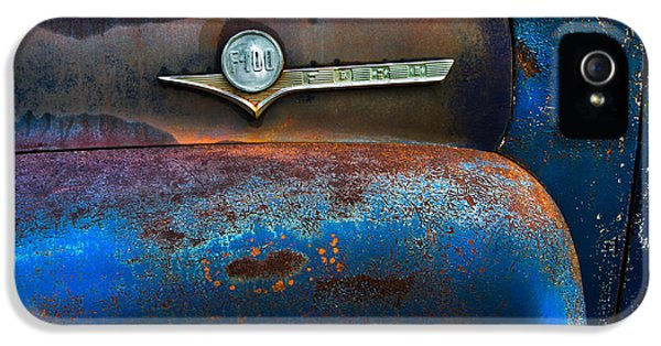 F-100 Ford IPhone 5 / 5s Case by Debra and Dave Vanderlaan