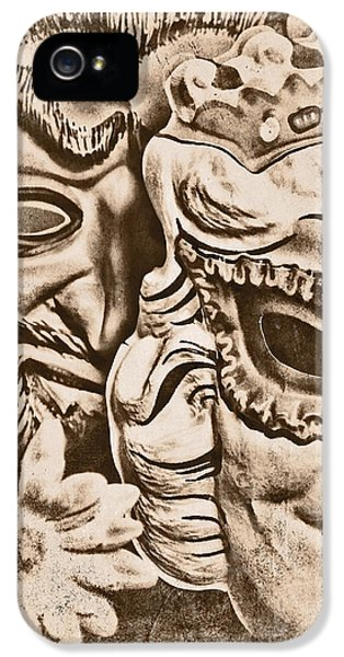 Masquerade iPhone 5 Cases - Faded Memories iPhone 5 Case by Jeff  Gettis