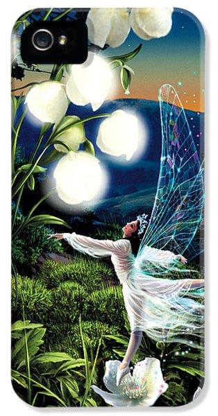 Ballerina iPhone 5 Cases - Fairy Dance iPhone 5 Case by Garry Walton