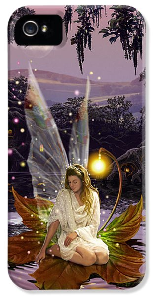 Fairies iPhone 5 Cases - Fairy Princess iPhone 5 Case by Garry Walton