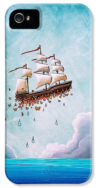 Ship iPhone 5 Cases - Fantastic Voyage iPhone 5 Case by Cindy Thornton