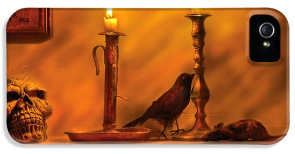 Halloween iPhone 5 Cases - Fantasy - In a Wizards House iPhone 5 Case by Mike Savad