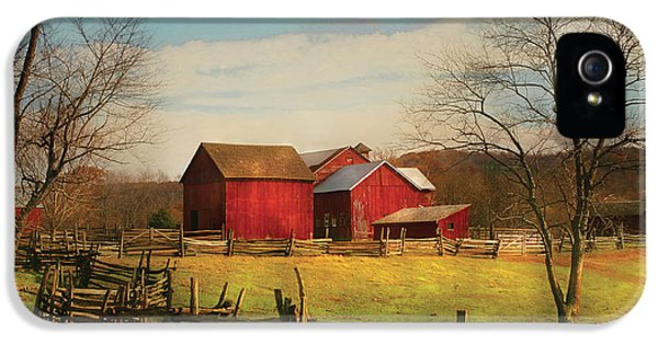 Realtor iPhone 5 Cases - Farm - Barn - Just up the path iPhone 5 Case by Mike Savad