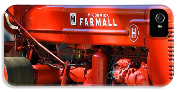 Central Il iPhone 5 Cases - Farm Tractor 11 iPhone 5 Case by Thomas Woolworth
