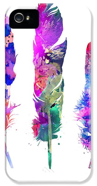 Feathers 3 IPhone 5 / 5s Case by Luke and Slavi