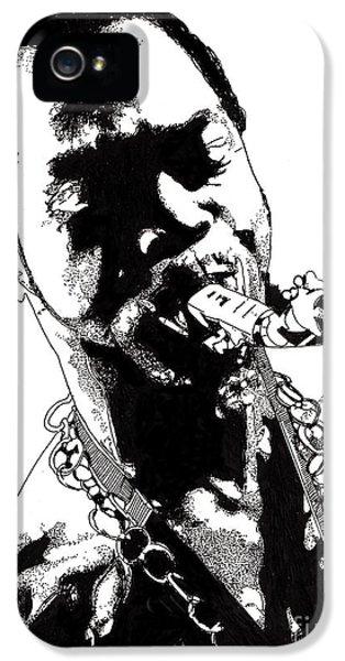 Fela Kuti IPhone 5 / 5s Case by Nancy Mergybrower