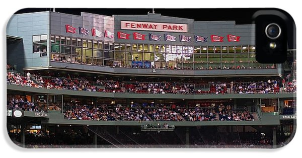 Balls iPhone 5 Cases - Fenway Park iPhone 5 Case by Juergen Roth