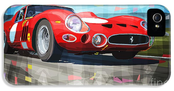 Automotive iPhone 5 Cases - Ferrari 330 GTO 1962 iPhone 5 Case by Yuriy Shevchuk