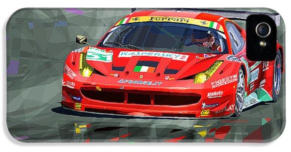 Ferrari 458 Gtc Af Corse IPhone 5 / 5s Case by Yuriy  Shevchuk