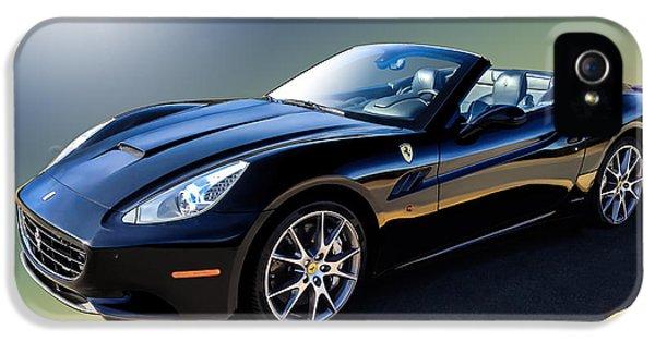 Ferrari iPhone 5 Cases - Ferrari California iPhone 5 Case by Douglas Pittman