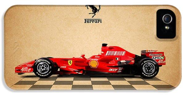 Formula One iPhone 5 Cases - Ferrari F300 iPhone 5 Case by Mark Rogan