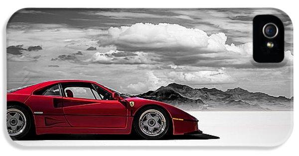 Extreme iPhone 5 Cases - Ferrari F40 iPhone 5 Case by Douglas Pittman