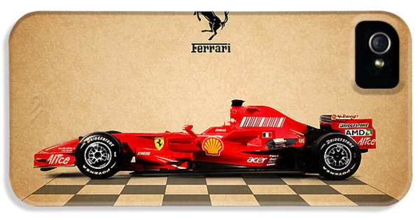 Formula One iPhone 5 Cases - Ferrari F60 iPhone 5 Case by Mark Rogan