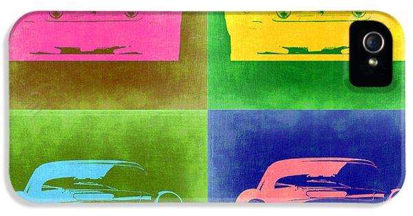 Ferrari iPhone 5 Cases - Ferrari Front Pop Art 3 iPhone 5 Case by Naxart Studio
