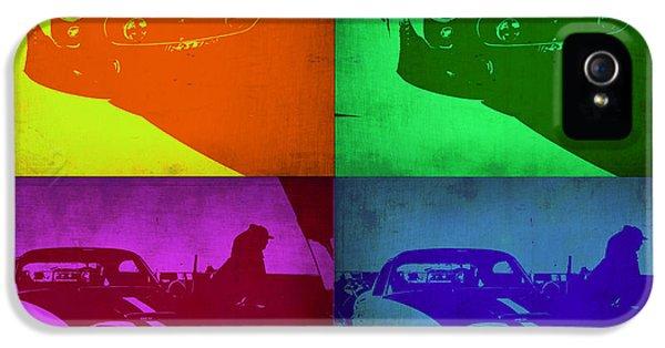 Ferrari iPhone 5 Cases - Ferrari GTO Pop Art 1 iPhone 5 Case by Naxart Studio