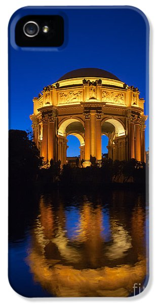 Pillar iPhone 5 Cases - Fine Arts Palace iPhone 5 Case by Inge Johnsson