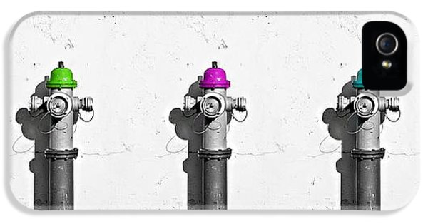 Fire Hydrants IPhone 5 / 5s Case by Dia Karanouh
