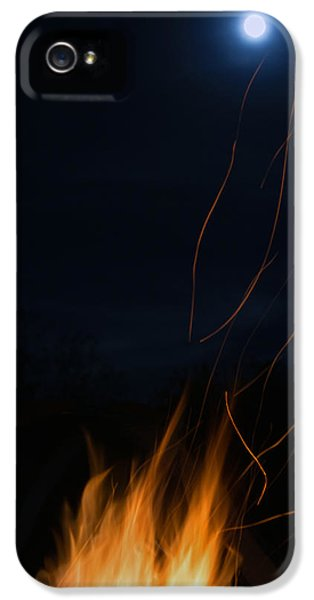 Fire iPhone 5 Cases - Fire Laces iPhone 5 Case by MaJoR  Images