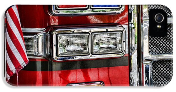 Safety iPhone 5 Cases - Fireman - Fire Engine iPhone 5 Case by Paul Ward