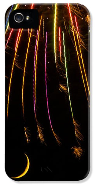 Firework Indian Headdress IPhone 5 / 5s Case by Darryl Dalton