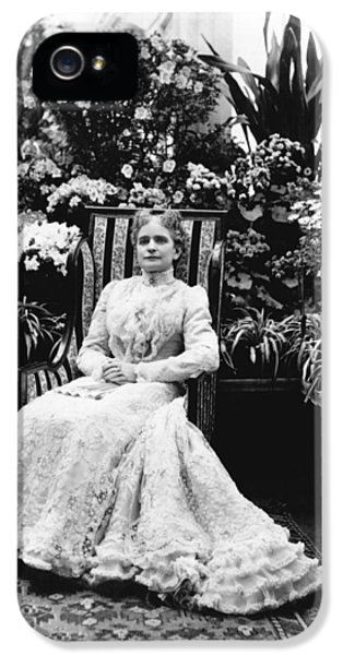 First Lady Ida Mckinley IPhone 5 / 5s Case by Underwood Archives