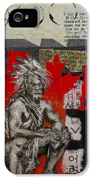 First Nations iPhone 5 Cases - First Nations 14 iPhone 5 Case by Corporate Art Task Force