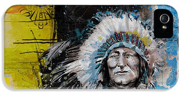 First Nations iPhone 5 Cases - First Nations 33 iPhone 5 Case by Corporate Art Task Force
