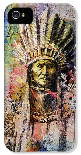 First Nations iPhone 5 Cases - First Nations 6 iPhone 5 Case by Corporate Art Task Force