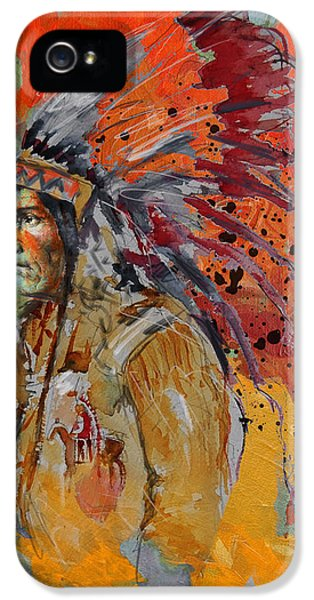 First Nations iPhone 5 Cases - First Nations 9 B iPhone 5 Case by Corporate Art Task Force