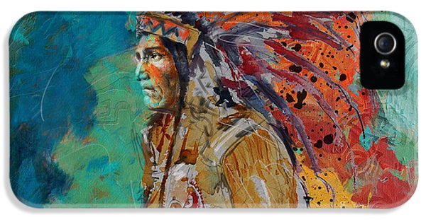 First Nations iPhone 5 Cases - First Nations 9 iPhone 5 Case by Corporate Art Task Force