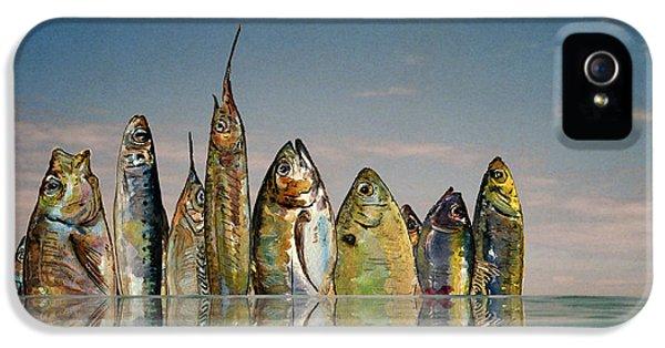 Fishhattan IPhone 5 / 5s Case by Juan  Bosco