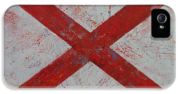 July 4th iPhone 5 Cases - Alabama iPhone 5 Case by Michael Creese