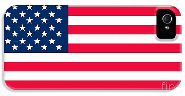 Flag Of The United States Of America IPhone 5 / 5s Case by Anonymous