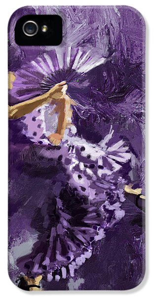 Coordination iPhone 5 Cases - Flamenco Dancer 023 iPhone 5 Case by Catf