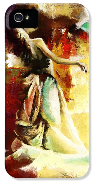 Coordination iPhone 5 Cases - Flamenco Dancer 032 iPhone 5 Case by Catf