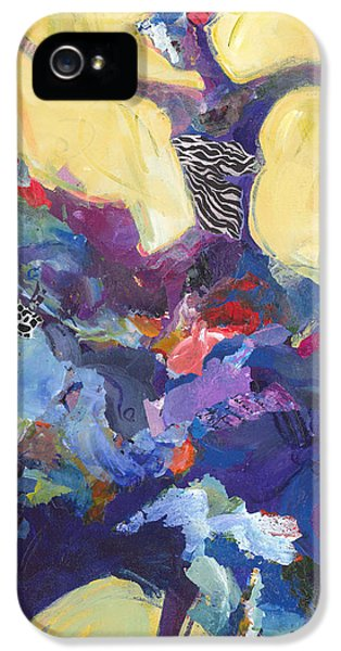 Dance iPhone 5 Cases - Flamenco Dancer No 5 iPhone 5 Case by Shelli Walters