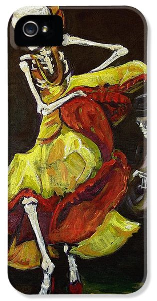 Mexican iPhone 5 Cases - Flamenco VI iPhone 5 Case by Sharon Sieben