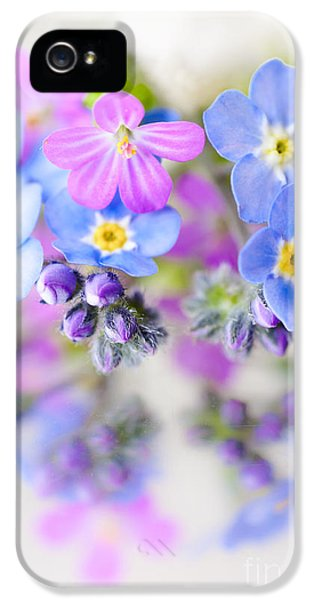 Floral Reflection IPhone 5 / 5s Case by Jan Bickerton