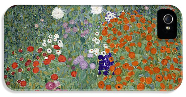Flower Garden IPhone 5 / 5s Case by Gustav Klimt