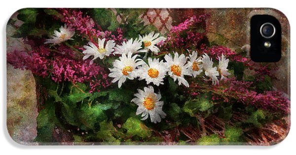 Suburbanscenes iPhone 5 Cases - Flower - Still - Seat Reserved iPhone 5 Case by Mike Savad