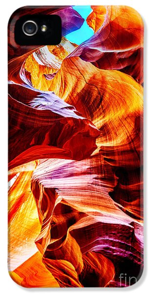 Shapes iPhone 5 Cases - Flowing iPhone 5 Case by Az Jackson