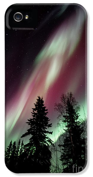 Beautiful iPhone 5 Cases - Flowing Colours iPhone 5 Case by Priska Wettstein