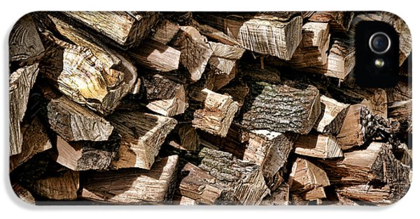 Firewood iPhone 5 Cases - For Winter iPhone 5 Case by Olivier Le Queinec